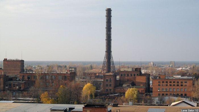 "Прогулка по заброшенному заводу ""Химволокно"" (43 фото)"