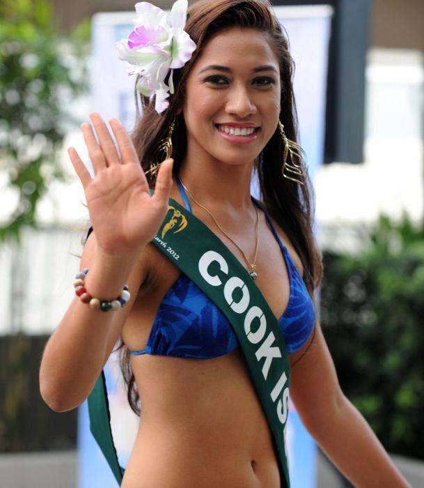 Девушки с конкурса «Мисс Земля 2012» (27 фото)
