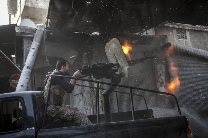 Сирия в руинах войны (40 фото)
