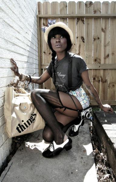 Темнокожие красотки (45 фото)