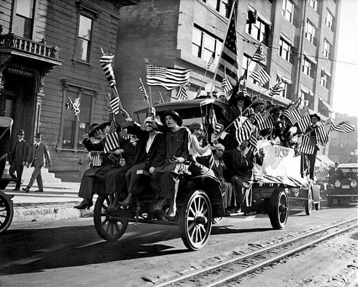 Архивные снимки в день окончания Первой Мировой Войны (31 фото)