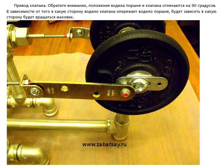 Как сделать паровой двигатель из подручных средств (21 фото)