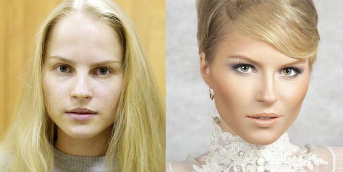 Чудеса, которые творит профессиональный макияж (20 фото)