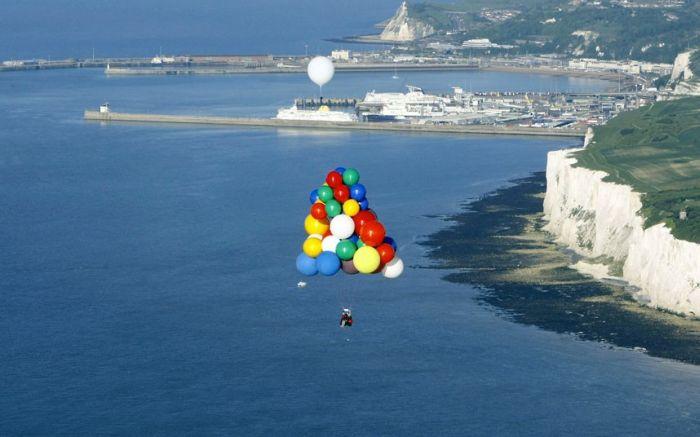 Невероятное путешествие на воздушных шарах (12 фото)