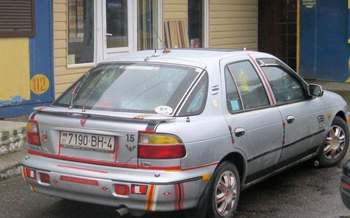 Странный тюнинг из Беларуси (25 фото)
