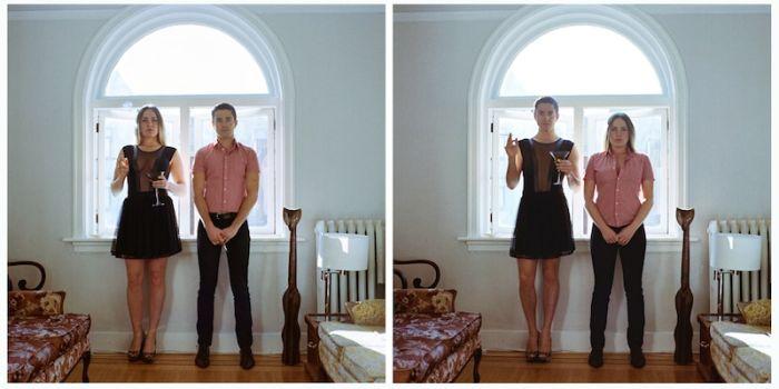 """Забавный  проект: """"Одежда меняет восприятие"""" (74 фото)"""