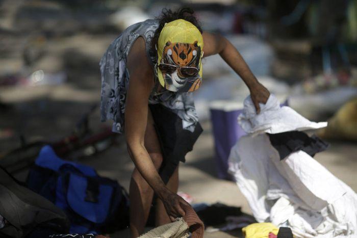 Жизнь наркоманов Бразилии из неблагоприятных районов (32 фото)