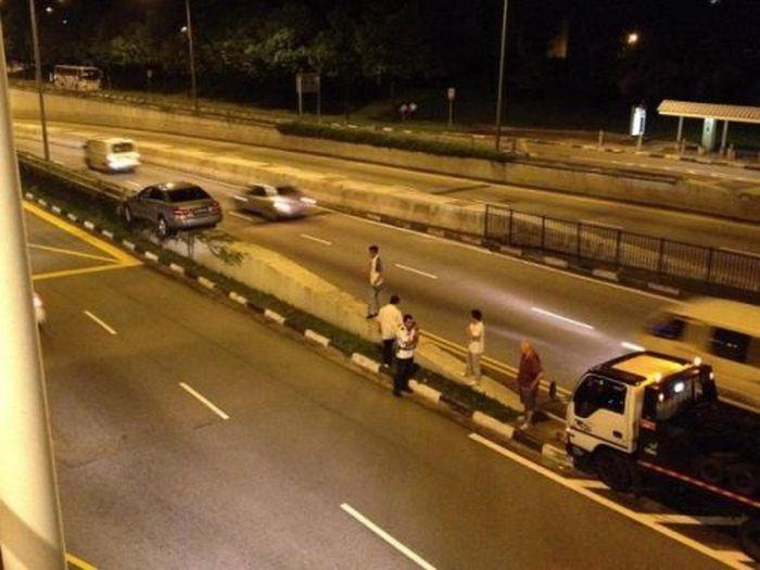 İlginç Yol Kazalarından Derleme (45 fotograf)