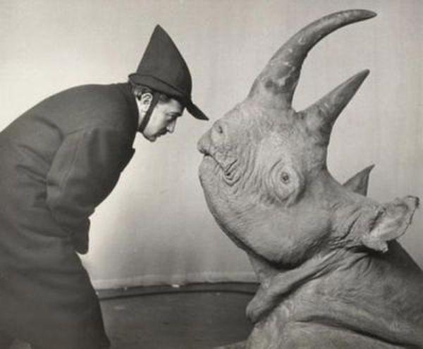 Серьезные исторические личности на забавных снимках (46 фото)