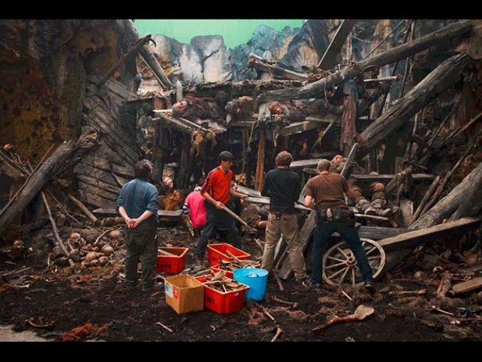 """Классные фотографии со съемок фильма """"Хоббит"""" (31 фото)"""