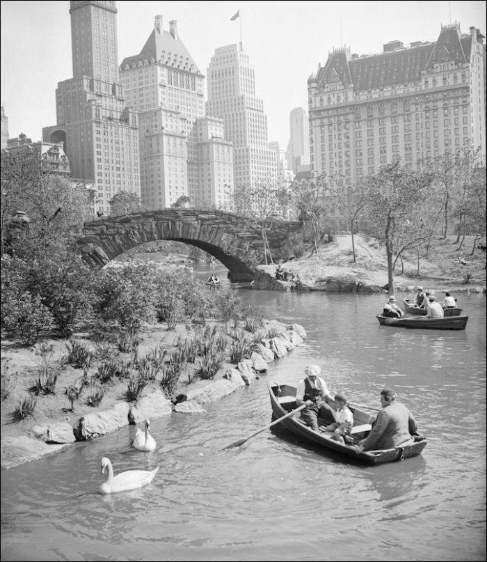 Nueva York-estilo 'entonces y ahora' (20 fotos)
