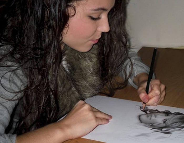 Kendi Kendini Yetiştirmiş Bir Ressamdan İnanılmaz Resimler(27 Fotograf)