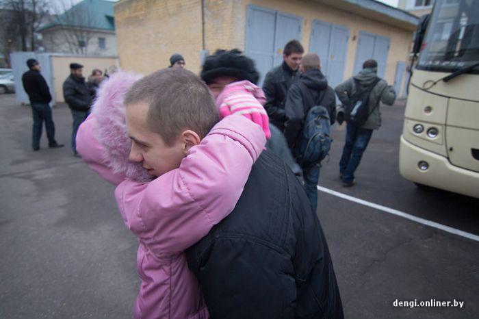 День призыва в белорусскую армию (71 фото)