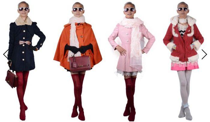 72-летний дедушка стал известной моделью молодежной одежды (12 фото)