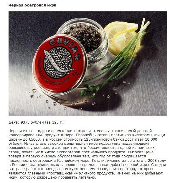 Самые необычные и дорогие консервы со всего мира (10 фото)