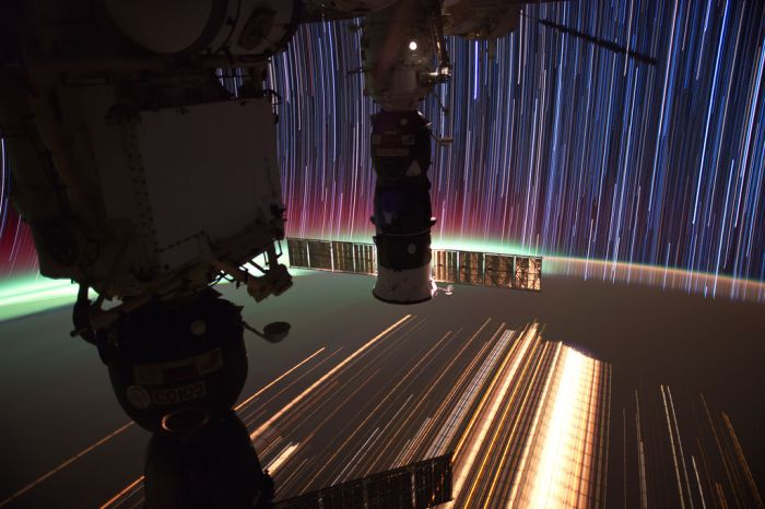 Космические снимки с большой выдержкой (36 фото)