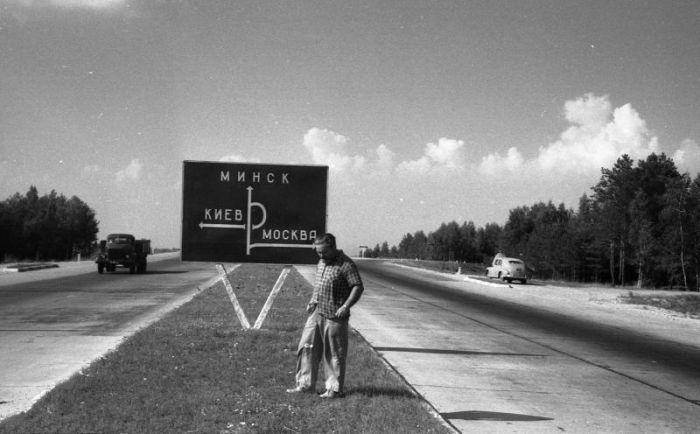 МКАД исполняется 50 лет (20 фото)