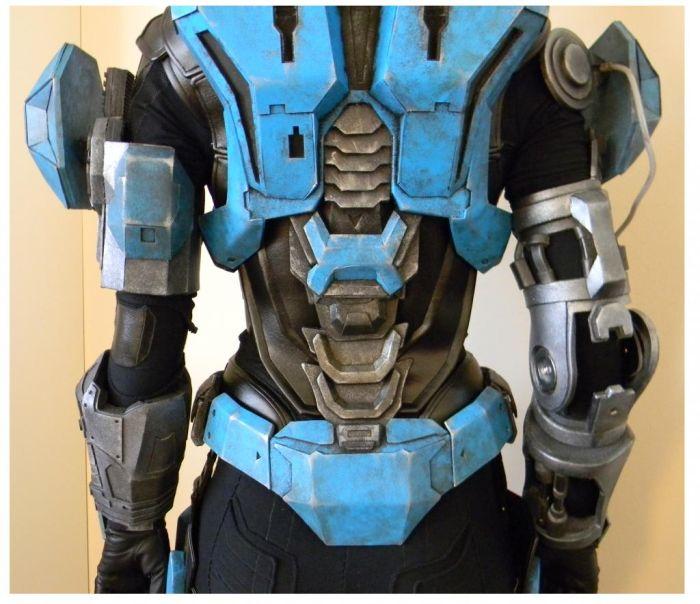 Делаем косплей костюм персонажа из игры HALO (105 фото)