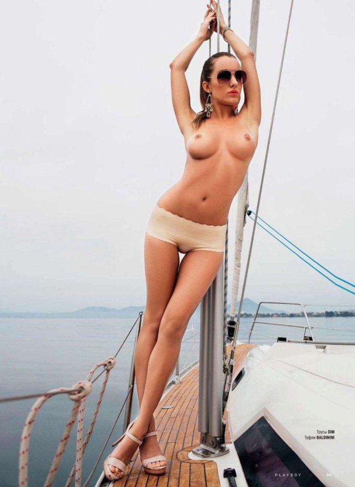 Свежий номер журнала Playboy за декабрь 2012 (21 фото)