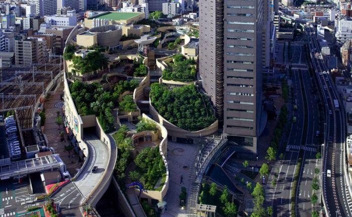 Japon 8 Yıldızlı Fütüristik Parkı (14 Fotograf)
