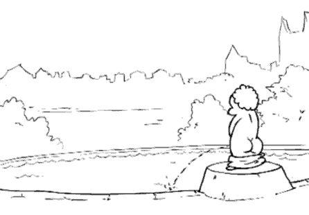 История одного фонтана (1 гифка)