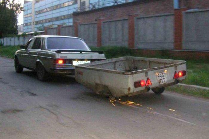 Такое можно увидеть только в России (56 фото)
