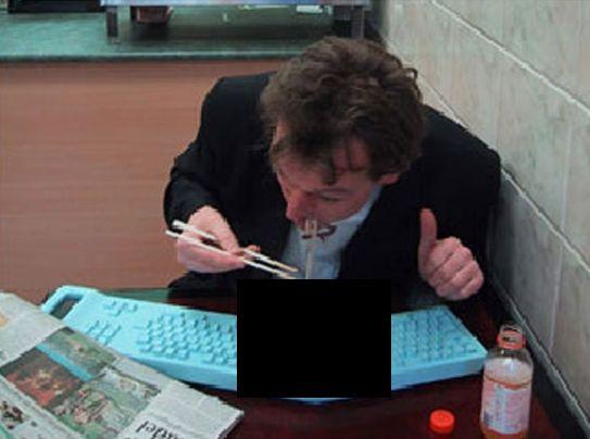 Самый современный способ поесть (3 фото)