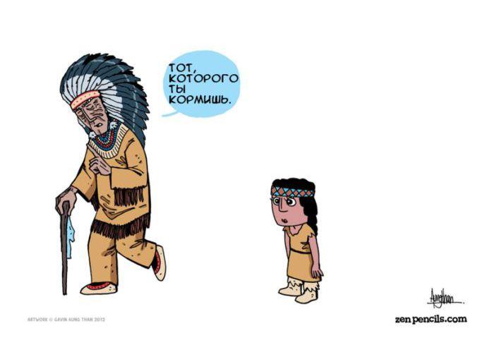 Философский комикс (7 картинок)