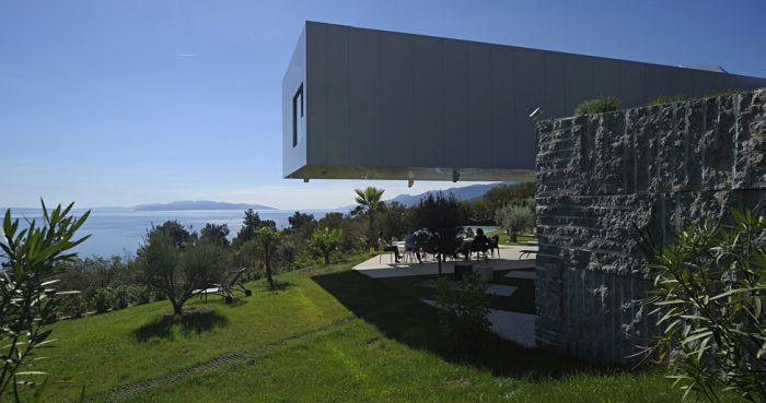 Удивительный дизайн дома в Хорватии (14 фото)