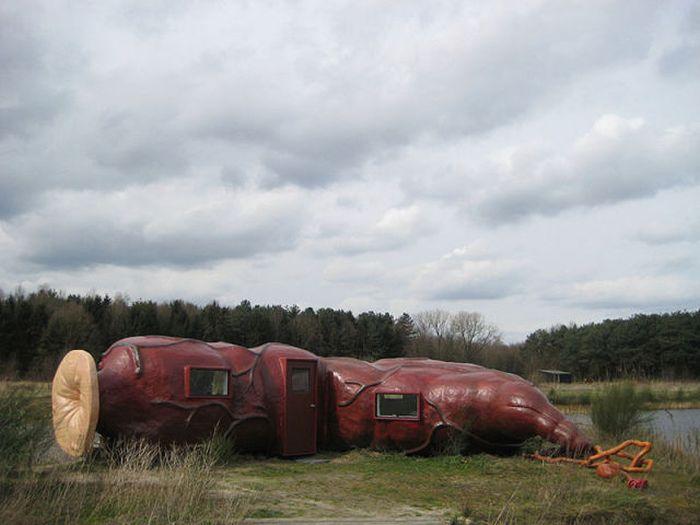 Необычная гостиница в Бельгии (8 фото)
