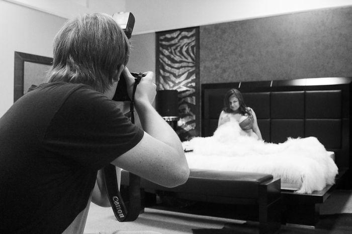 Как снимался эротический календарь с омскими девушками (26 фото)