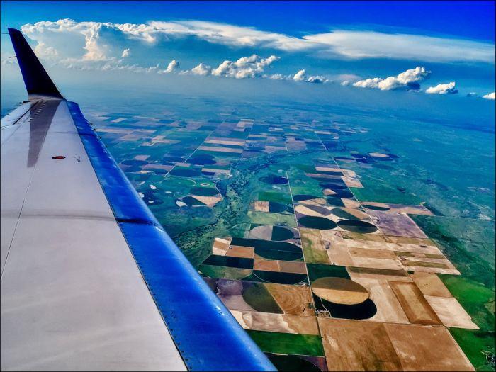 Muy buenas fotos sacadas desde las nubes. A ojo de pájaro