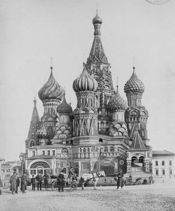 Снимки старой Москвы (37 фото)