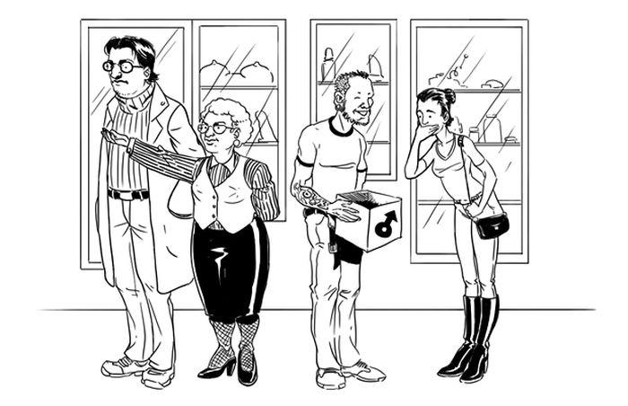 Чтобы устроиться на работу в магазин интимных товаров, нужно просто не