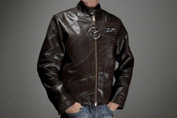 Кожанные куртки из салонов автомобилей (15 фото)