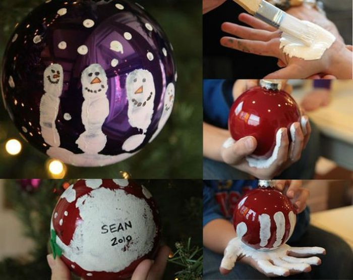 Foto for Christmas tree decorations you can make at home