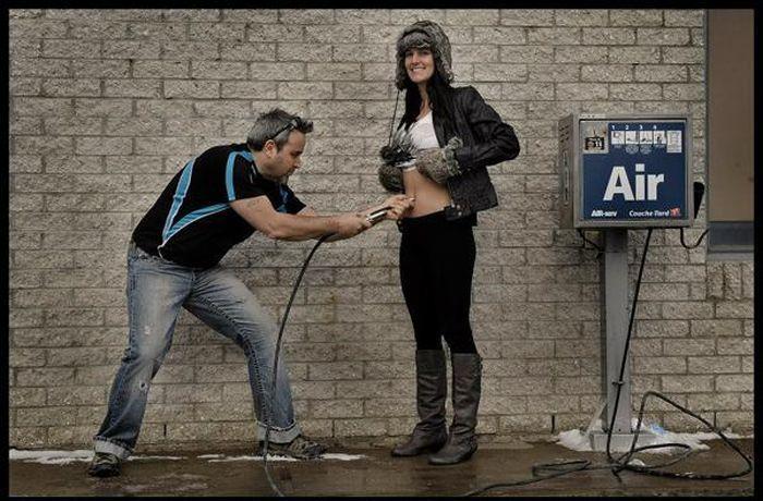 Позитивный фотопроект о рождении новой жизни (7 фото)