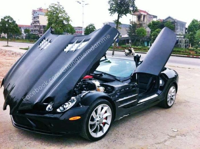 Суперкары во Вьетнаме не роскошь, а средство передвижения (28 фото)
