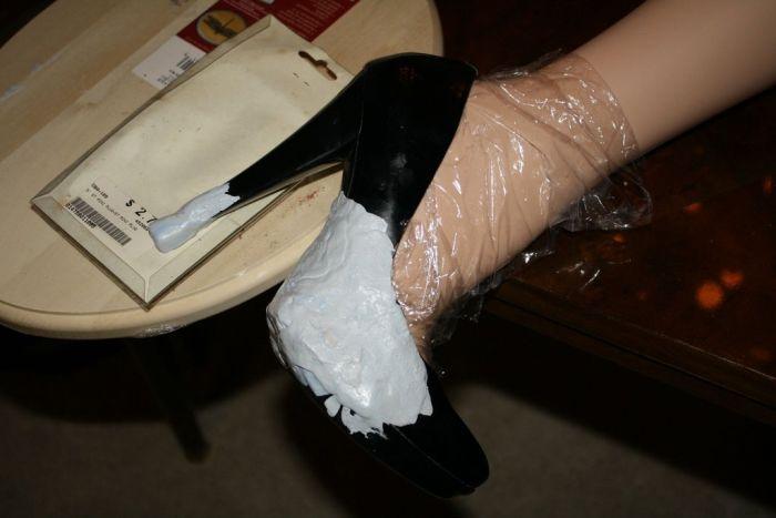 Как сделать креативный торшер из ноги манекена (42 фото)