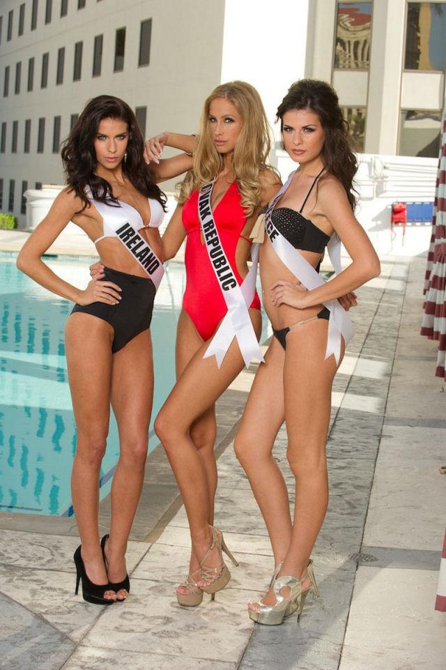Bikini Photoshoot Miss Universe 2012 Contestants photo.