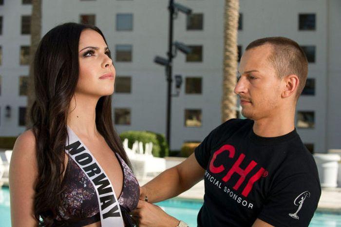 """Участницы конкурса """"Мисс Вселенная 2012"""" в бикини (24 фото)"""