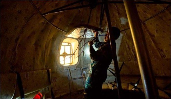 Уникальная сфера, которая спасет от конца света (12 фото)