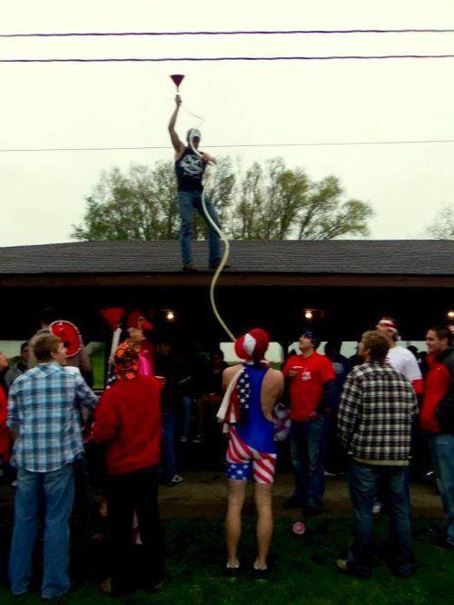 Американские студенты отрываются на полную катушку (55 фото)