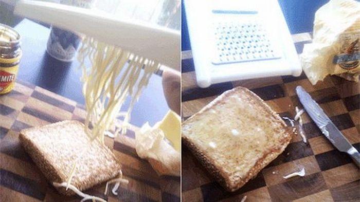 Креативные кухонные советы - лайфхакинг (8 фото)