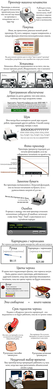 Почему я ненавижу свой принтер (2 картинки)