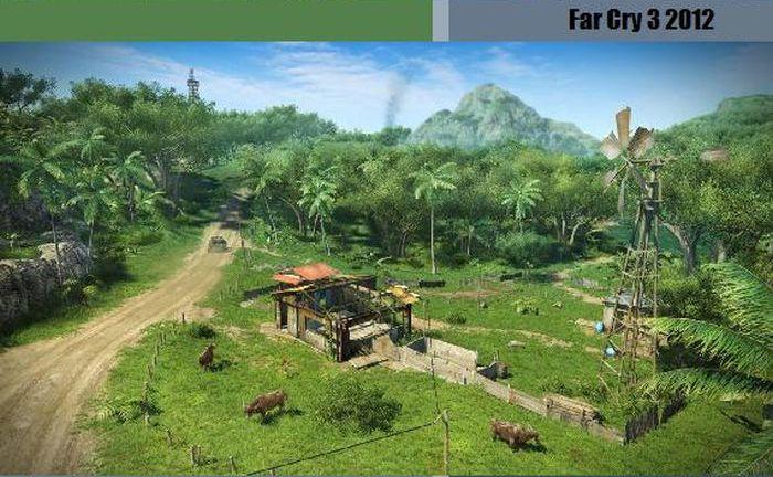 Хронология развития компьютерных игр (38 картинок)