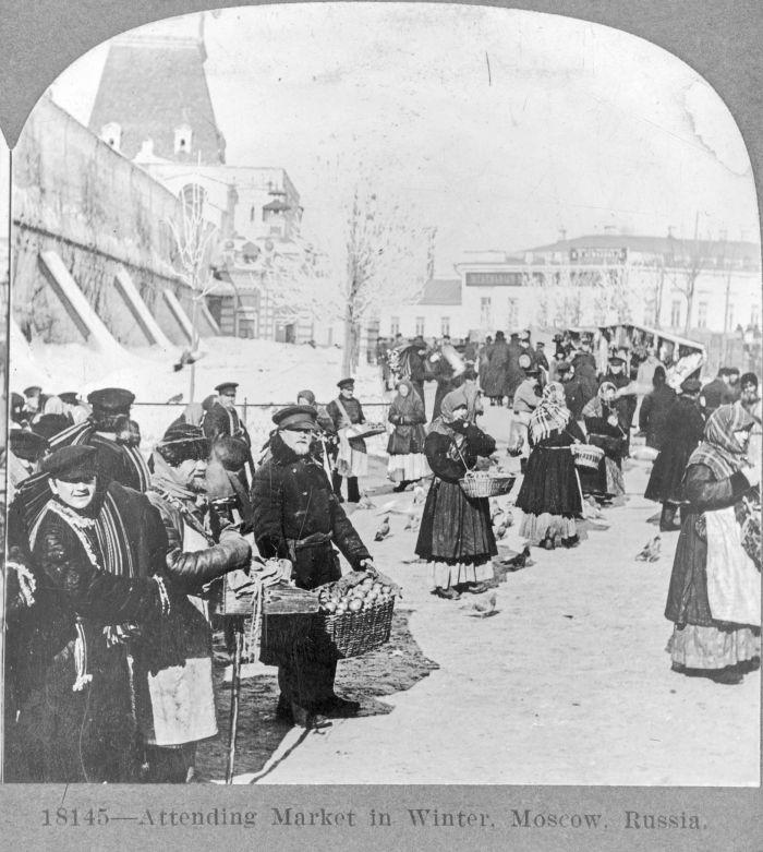 Архивные фотографии старой Москвы (25 фото)