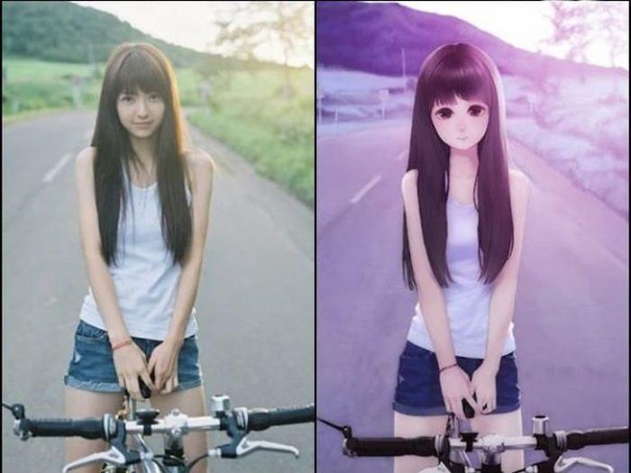 Разные перевоплощение японки 7 фотография