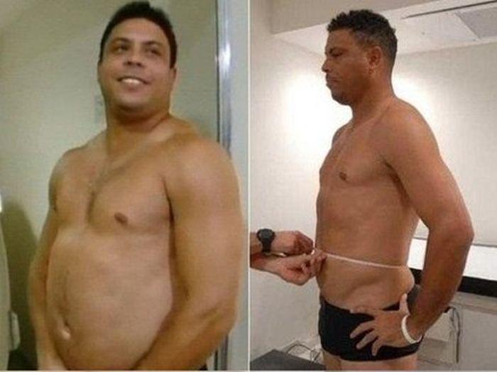 Звезда футбола Роналдо сдержал свое слово (2 фото)