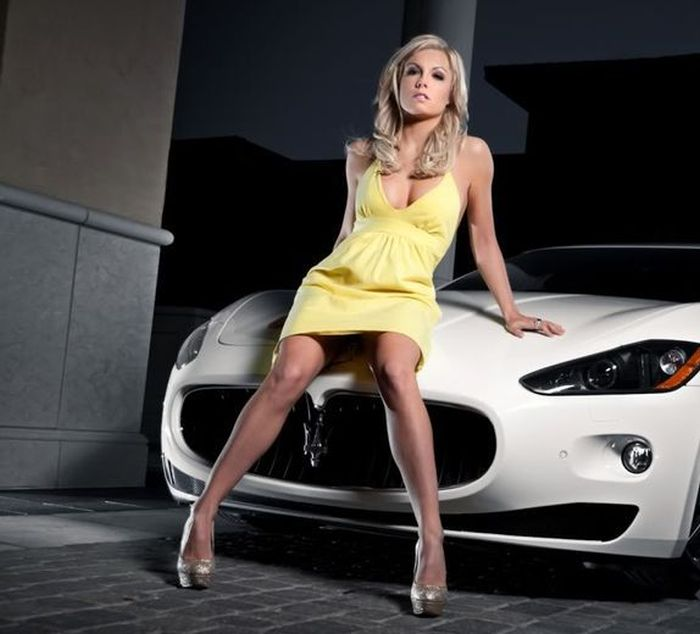 Секси девушки и авто hd